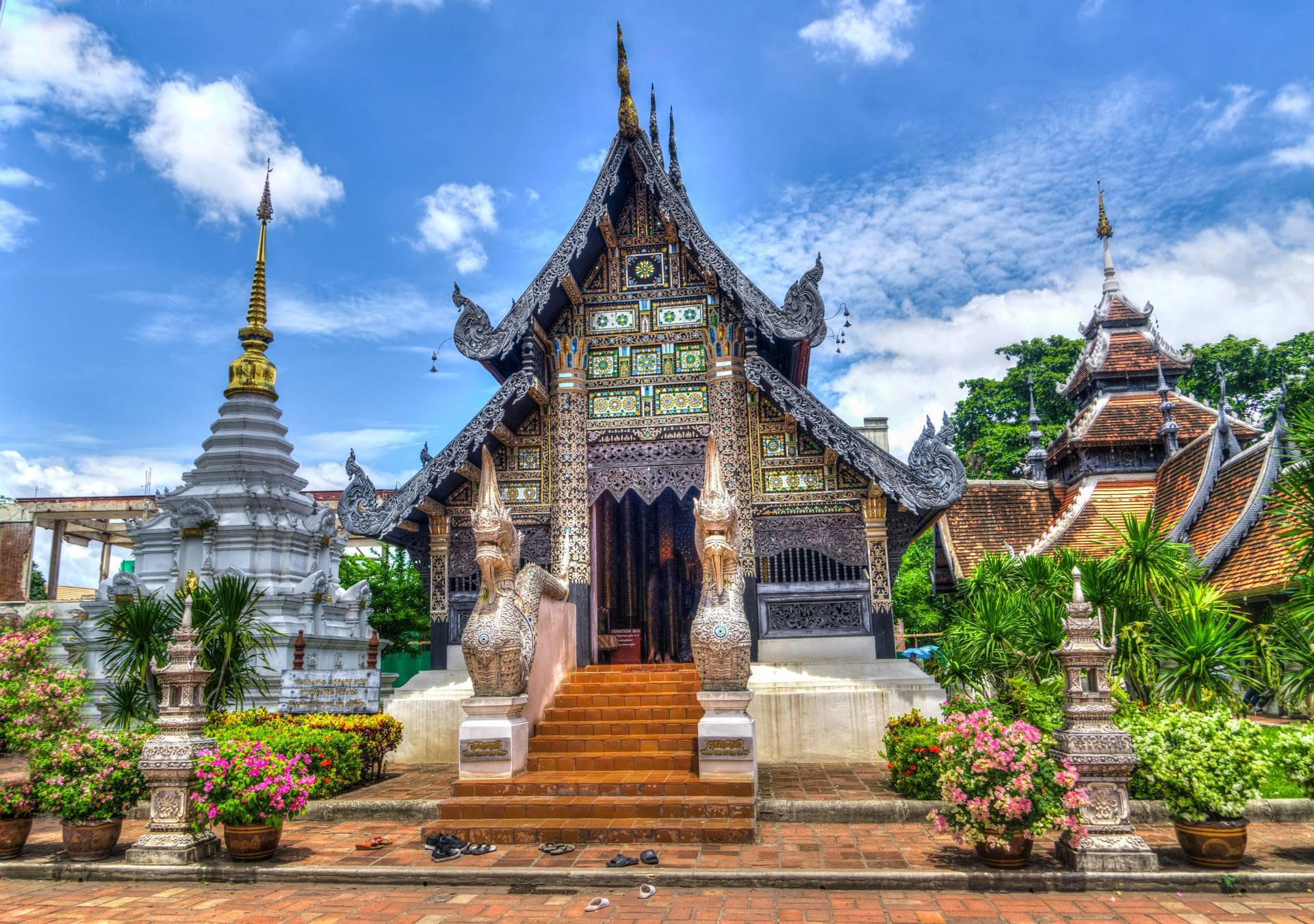 泰国·清迈+大象训练营+双龙寺·5天4晚