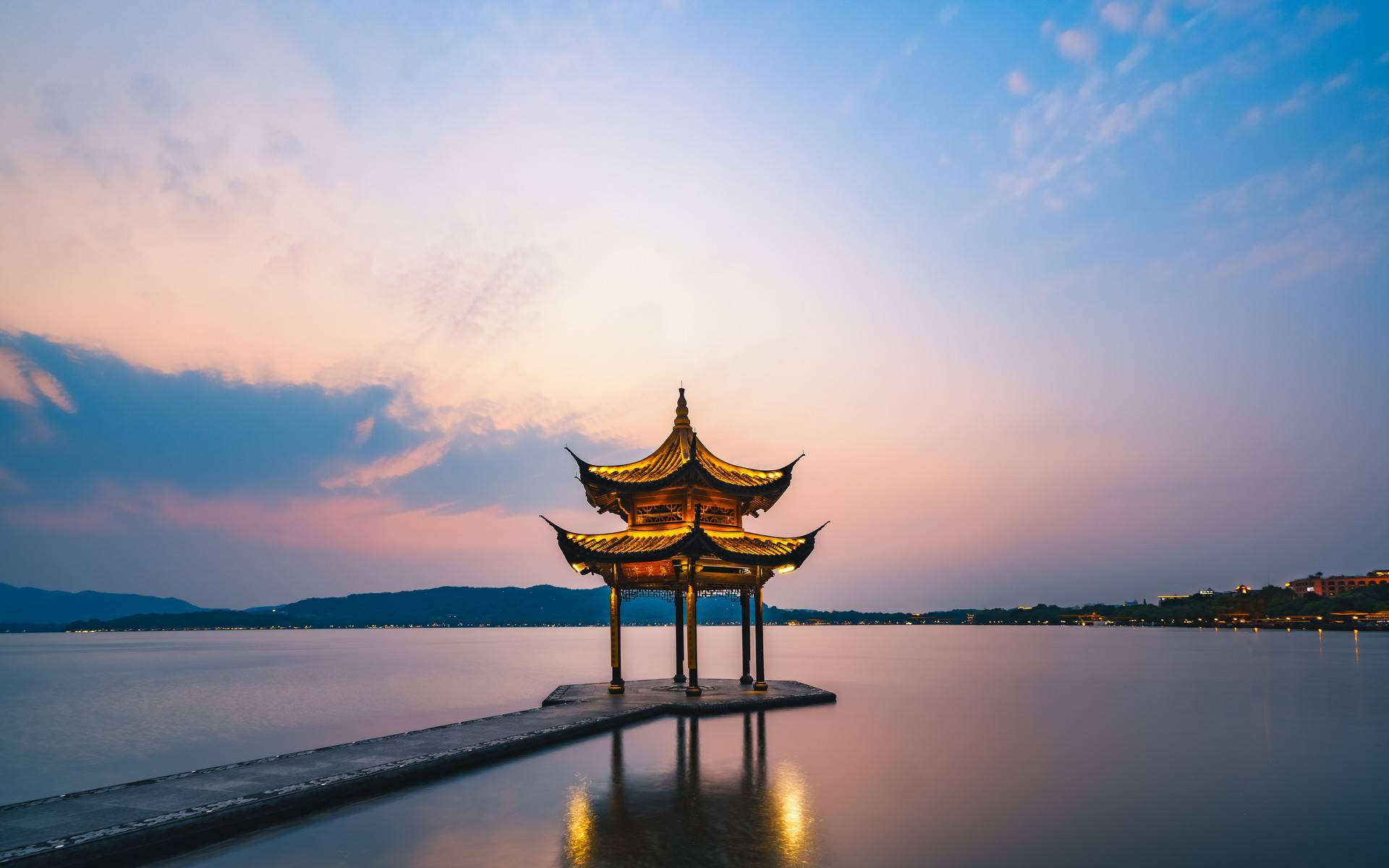 上海外滩+杭州西湖+西溪湿地+苏州耦园·5天4晚