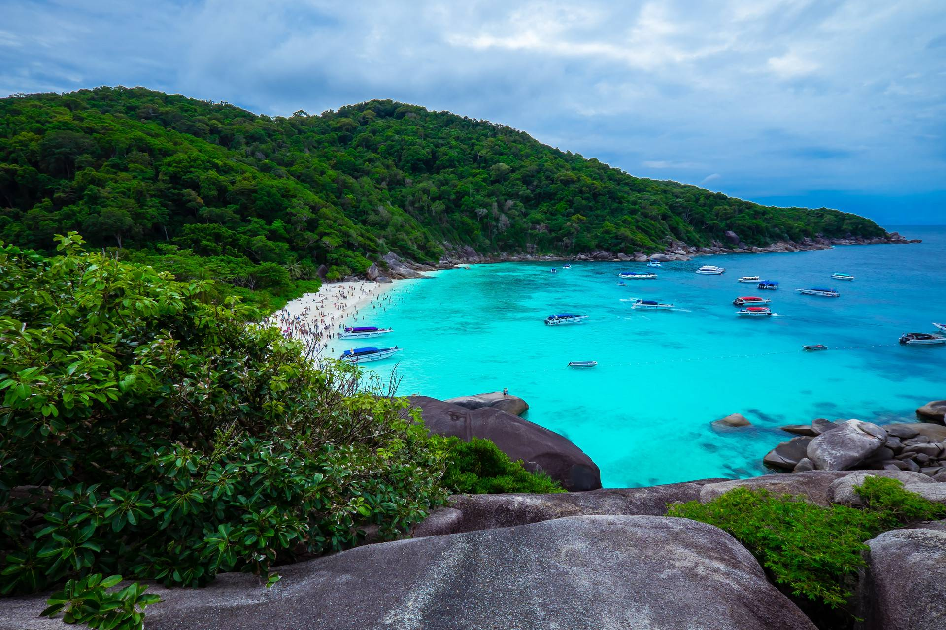 泰国大小皇帝岛一天游